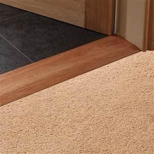 Chamfered internal hardwood threshold strip Flooring