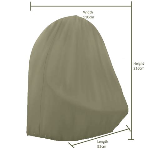 cord covers for bramblecrest single cocoon chair cover khaki bosworths
