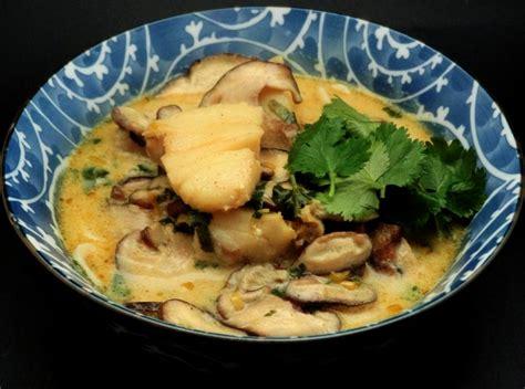 cuisine thailande soupe de poisson au lait de coco thaïlande la