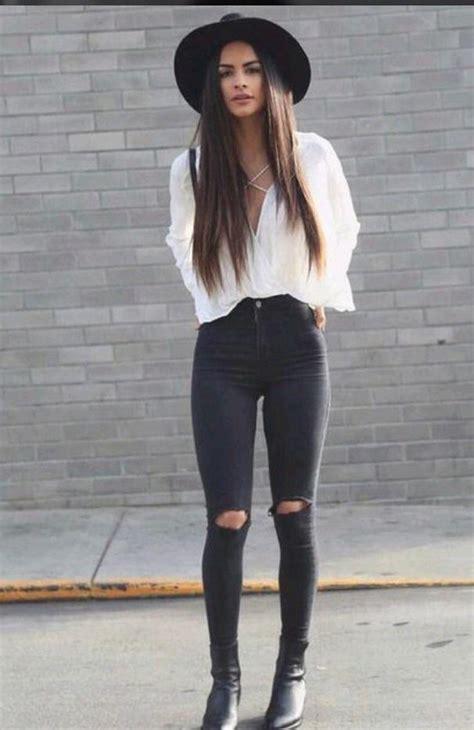 21 new Black Pants Outfits Women u2013 playzoa.com