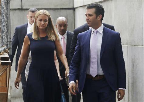 trump donald jr vanessa divorce wife court don estranged hearing arrive shutterstock