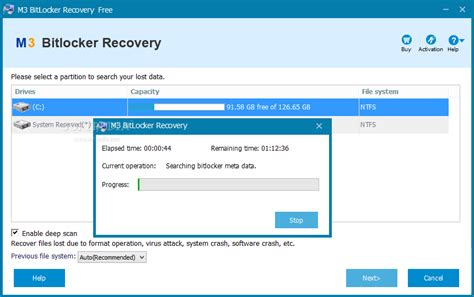 m3 bitlocker recovery download
