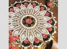 Pineapple and Roses Doily Pattern ⋆ Crochet Kingdom