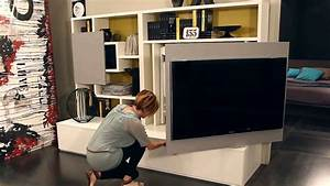 Design Wandhalterung Tv : smart living by ozzio design parete attrezzata mobile porta tv wall unit with tv stand youtube ~ Sanjose-hotels-ca.com Haus und Dekorationen