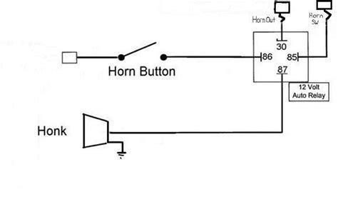 Air Horn Relay Wiring Diagram