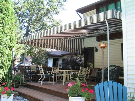 residential patio awnings ny custom covers canvas