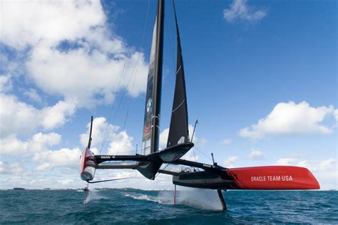 Oracle Boat by Aerial Images Of Oracle Team Usa From America S Cup