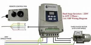 Dual Stage Inverter - 220v To 415v 3 Phase