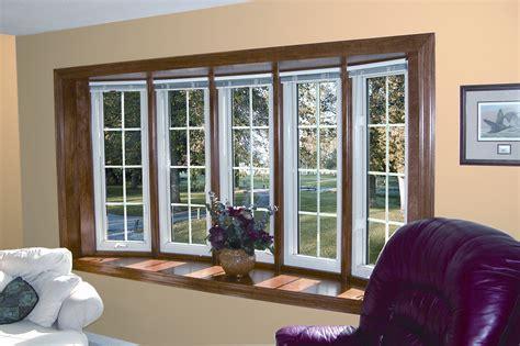 bay window designs replacement windows bay window bow window larson builders
