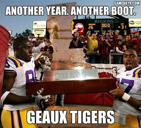 Lsu Memes - 31 best images about lsu vs arkansas the boot on pinterest taupe french connection and fifty