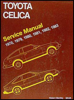 car maintenance manuals 1978 toyota celica head up display 1978 1983 toyota celica bentley repair shop manual