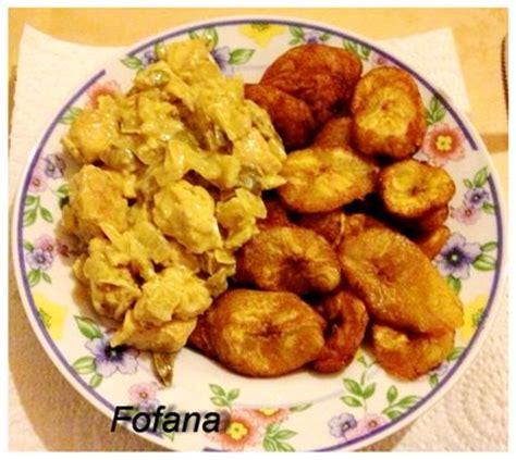 cuisine banane plantain bananes plantains au poulet yassa recettes africaines