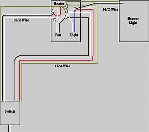 In 1 Bathroom Heater Wiring Diagram