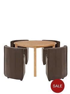 hideaway dining table and chairs dining table chair sets home garden www very co uk