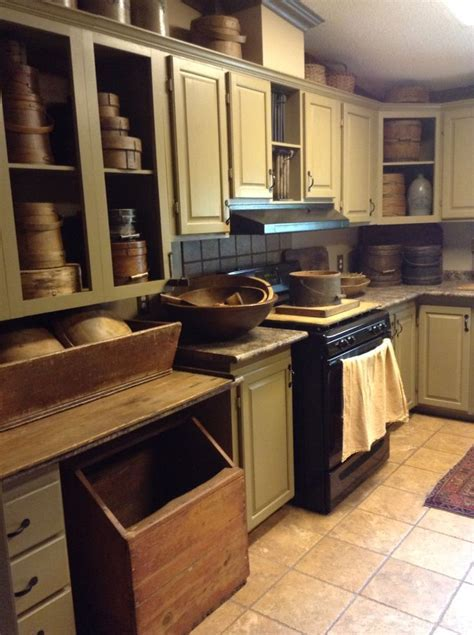 404 best Primitive Kitchens? images on Pinterest   Country
