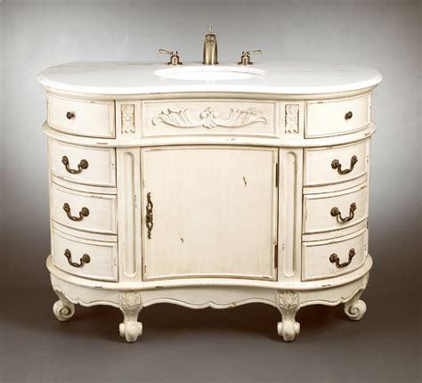 48 inch bathroom vanity 48 inch enna vanity side drawers vanity antique white