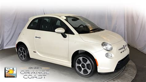 Fiat Pre Owned by Pre Owned 2017 Fiat 500e Battery Electric Hatchback In