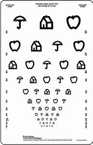 10 Foot Vision Chart House Apple Umbrella Translucent Vision Chart Precision