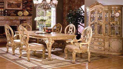 tuscany ii dining room set antique white  furniture