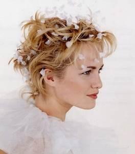 Coiffure Mariage Cheveux Court : coiffure de mariage pour cheveux courts ~ Dode.kayakingforconservation.com Idées de Décoration