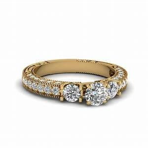 exclusive vintage diamond engagement rings fascinating With vintage round wedding rings