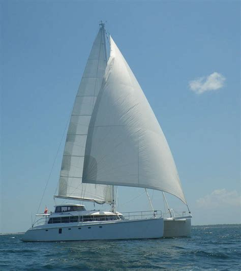 Catamaran Cat Meaning by Converting Power Catamaran To Sailing Catamaran Page 3