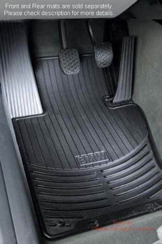 bmw 7 series f01 f02 rubber floor mats set of two mads e