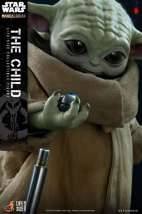 Baby Yoda Life-Sized Figure From The Mandalorian Revealed ...