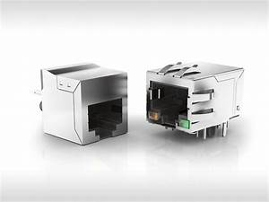 Modular Jack Connectors From Erni  U2013 Extremely Flexible And Reliable