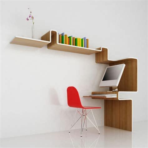 etagere bureau design étagère murale la modernité en quelques exemples
