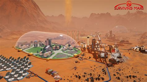 wallpaper surviving mars screenshot  games