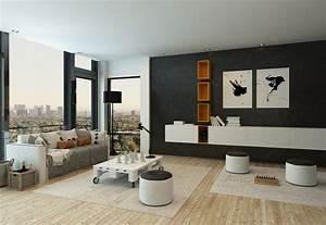 Minimalist Living Room Design – Modern House