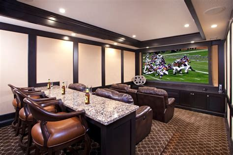 minneapolis home theater room traditional with dining