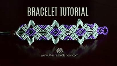Macrame Bracelet Tutorial Star Flower Jewelry Tutorials