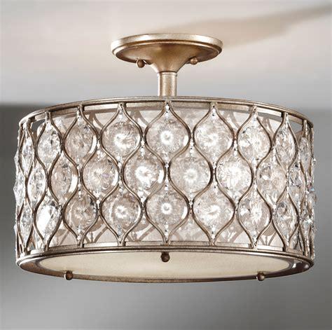 murray feiss sfbus crystal lucia semi flush ceiling fixture