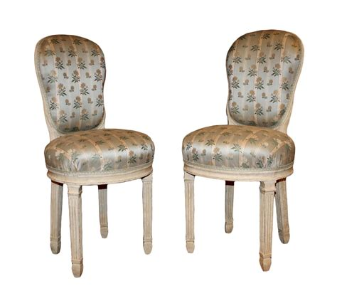 chaises louis xvi pair of louis xvi quot chaises de musicien quot ref 27576