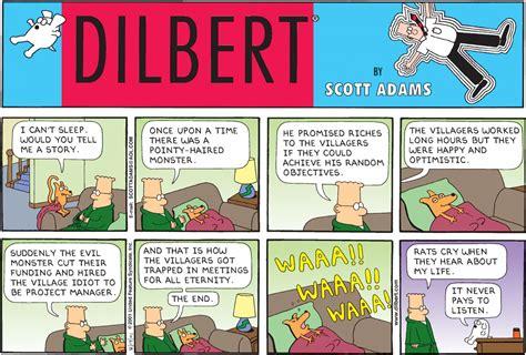 10 Funniest 'dilbert' Strips On Bosses