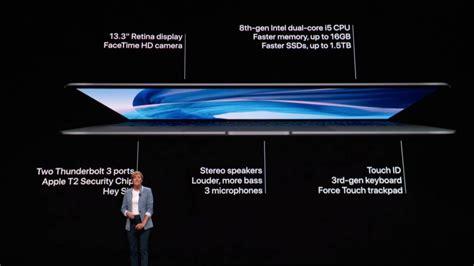 Macbook Air Baru Diperkenalkan Dengan Sokongan Retina