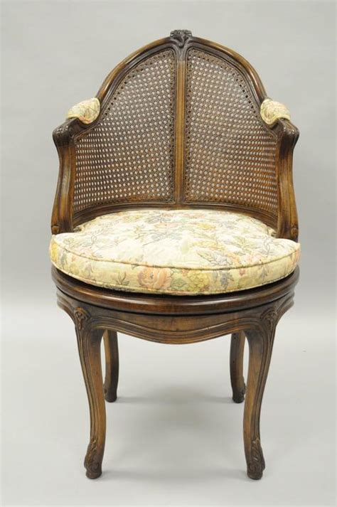 vanity chair with back country louis xv style swivel vanity chair