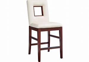 Sofia Vergara Savona Ivory Upholstered Counter Height