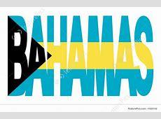 Bahamas Text With Flag Stock Illustration I1625102 at