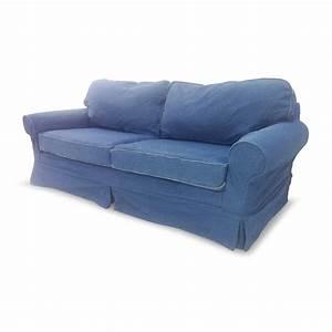 denim sofas 78 off blue denim couch sofas thesofa With denim sofa bed