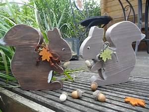 Eichhörnchen Aus Holz : deko objekte eichh rnchen ein designerst ck von creative holz bei dawanda s gen ~ Orissabook.com Haus und Dekorationen