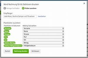 Rechnung Erstellen Word : word rechnung drucken webling support ~ Themetempest.com Abrechnung