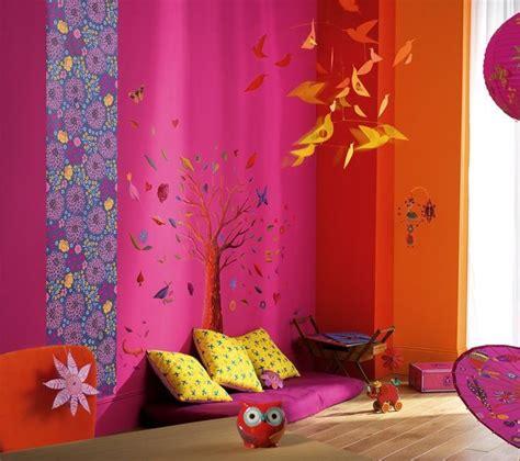 chambre fille violet fushia djeco picslovin