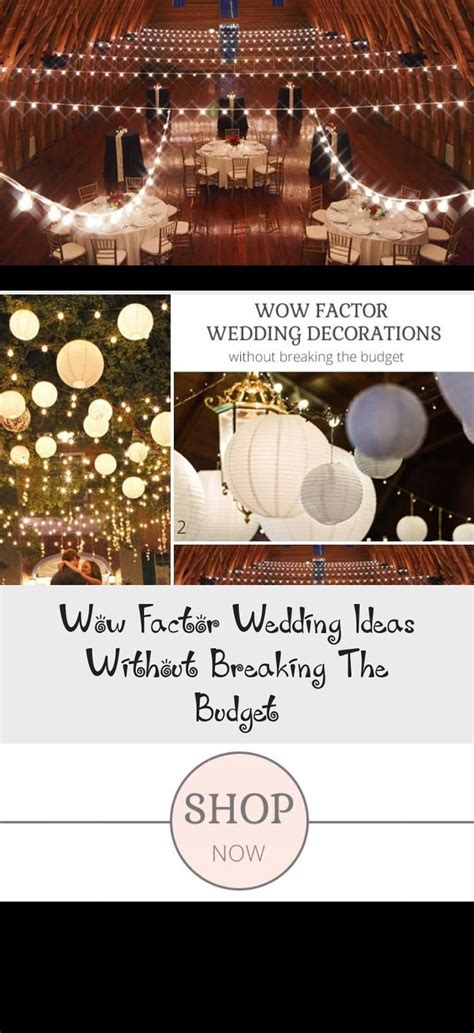 Wow Factor Wedding Ideas Without Breaking The Budget in