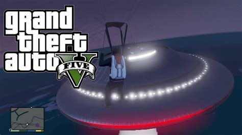 Flying Ufo Easter Egg #3! (grand Theft Auto 5