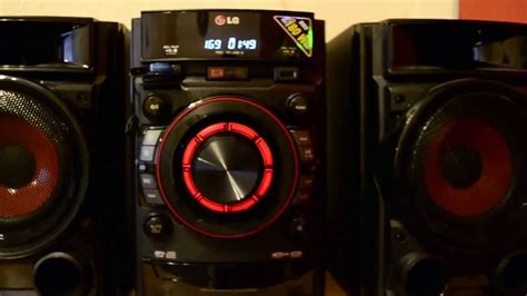 lg cm mini  fi system   rms youtube