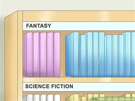 How To Arrange Bookshelves 11 Steps (with Pictures)  Wikihow. Eat In Kitchen Island Designs. House Interior Design Kitchen. Kitchen Design Philippines. Kitchen Design Names. 2020 Kitchen Design Software. Online Kitchen Cabinet Design. Bunnings Kitchens Designs. Design Kitchen Online 3d