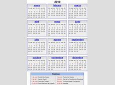 Calendario Laboral Festivo 2010 Blog Entre Montañas